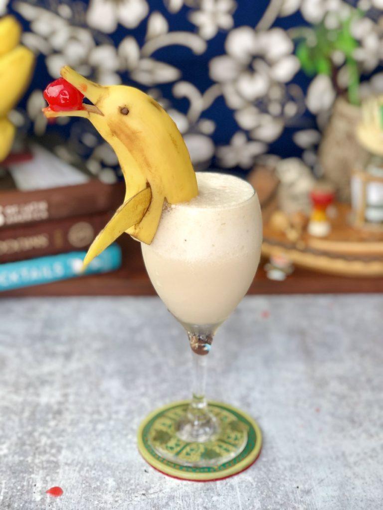 banana baileys colada