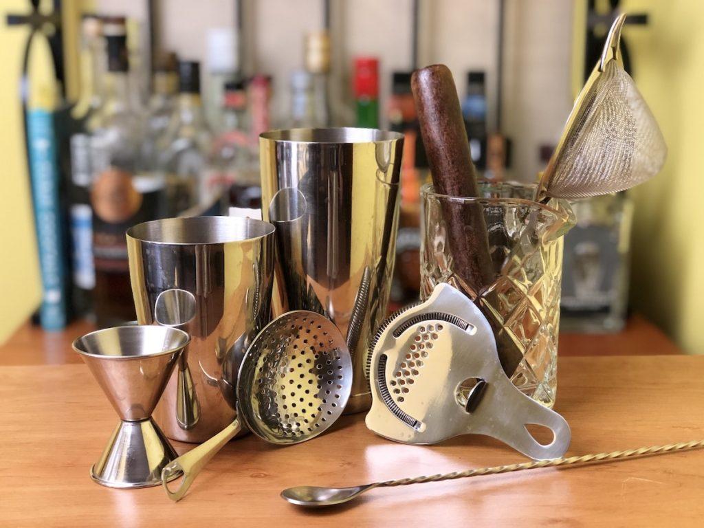 utensilios de bartender