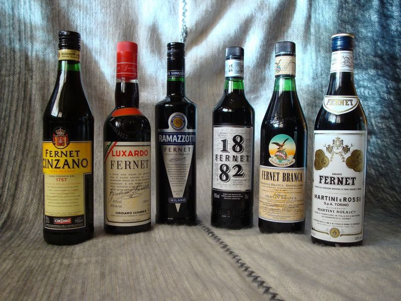botellas de fernet