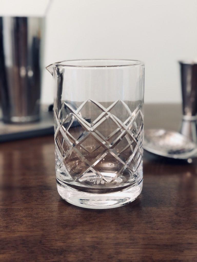 vaso mezclador cocteles