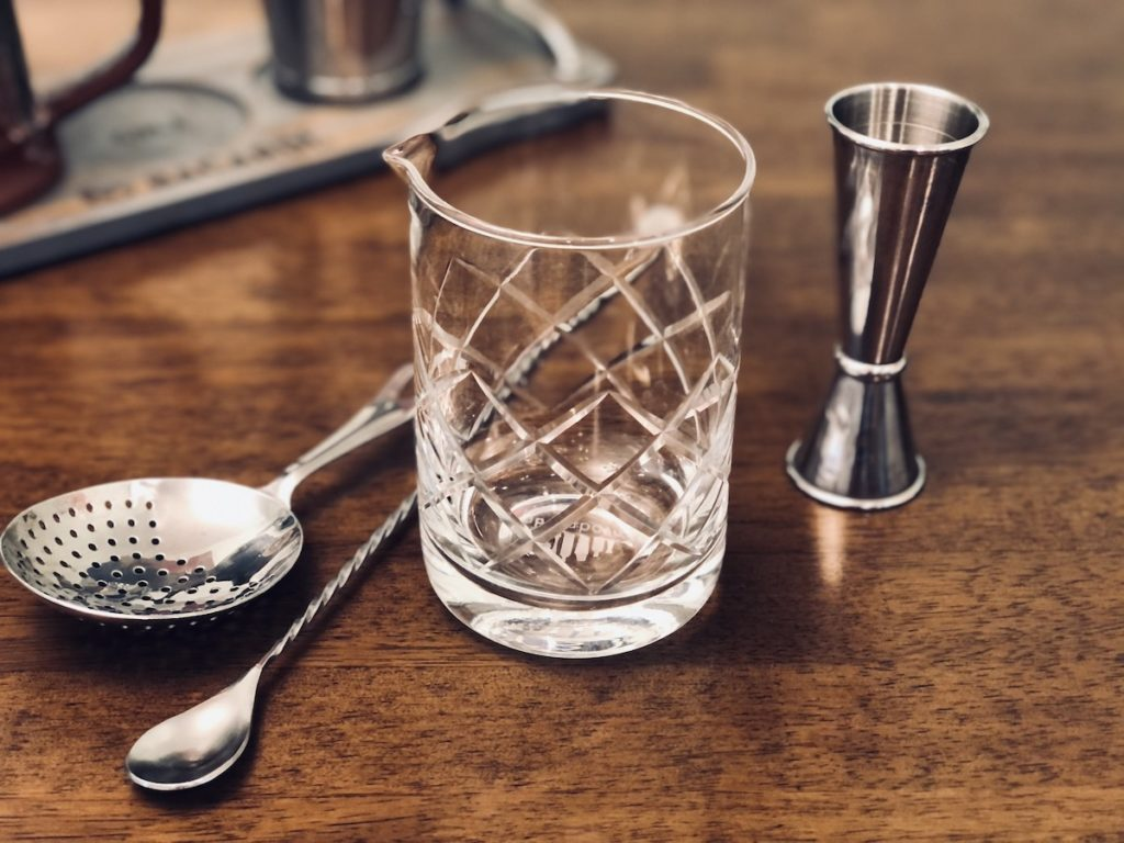 vaso mezclador para cocteles