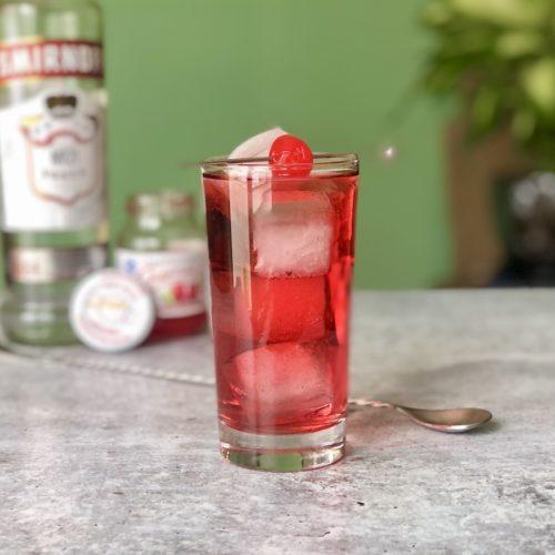 vodka con arandano