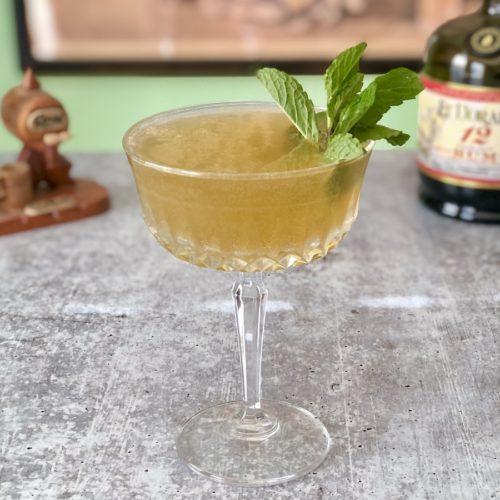 old cuban coctel